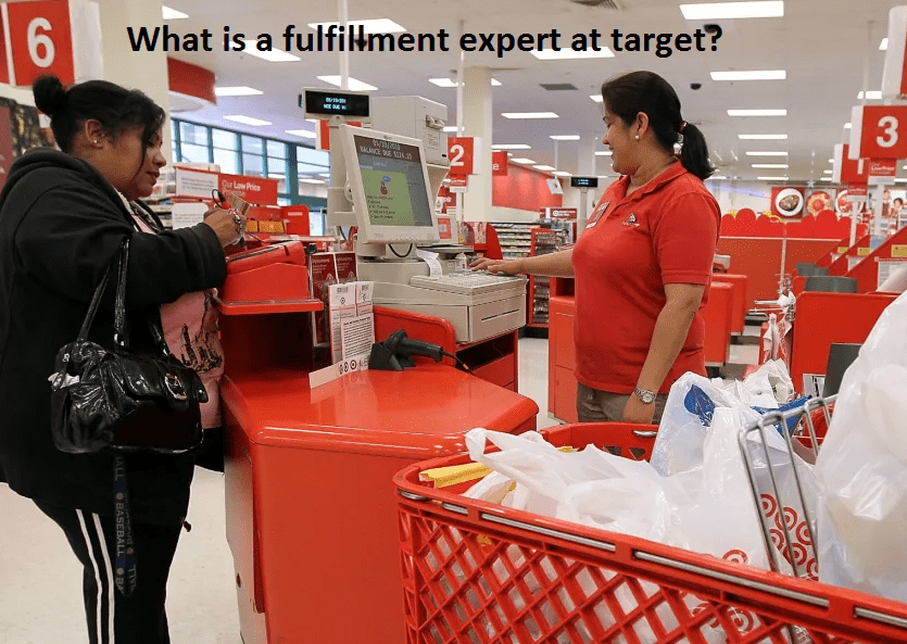 What is a fulfillment expert at target?